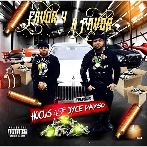 Photo of Dyce Payso x Hocus 45th – Favor 4 A Favor [Mixtape]