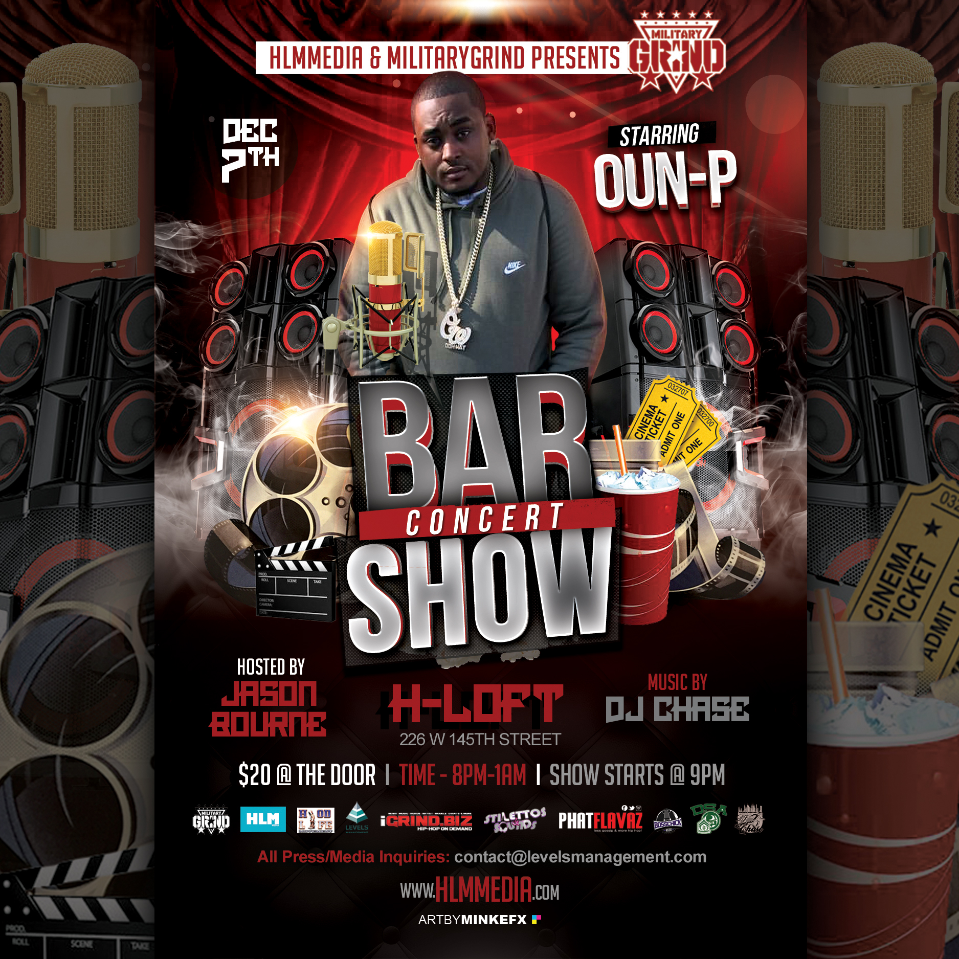 Photo of Oun-P – Bar Show Concert