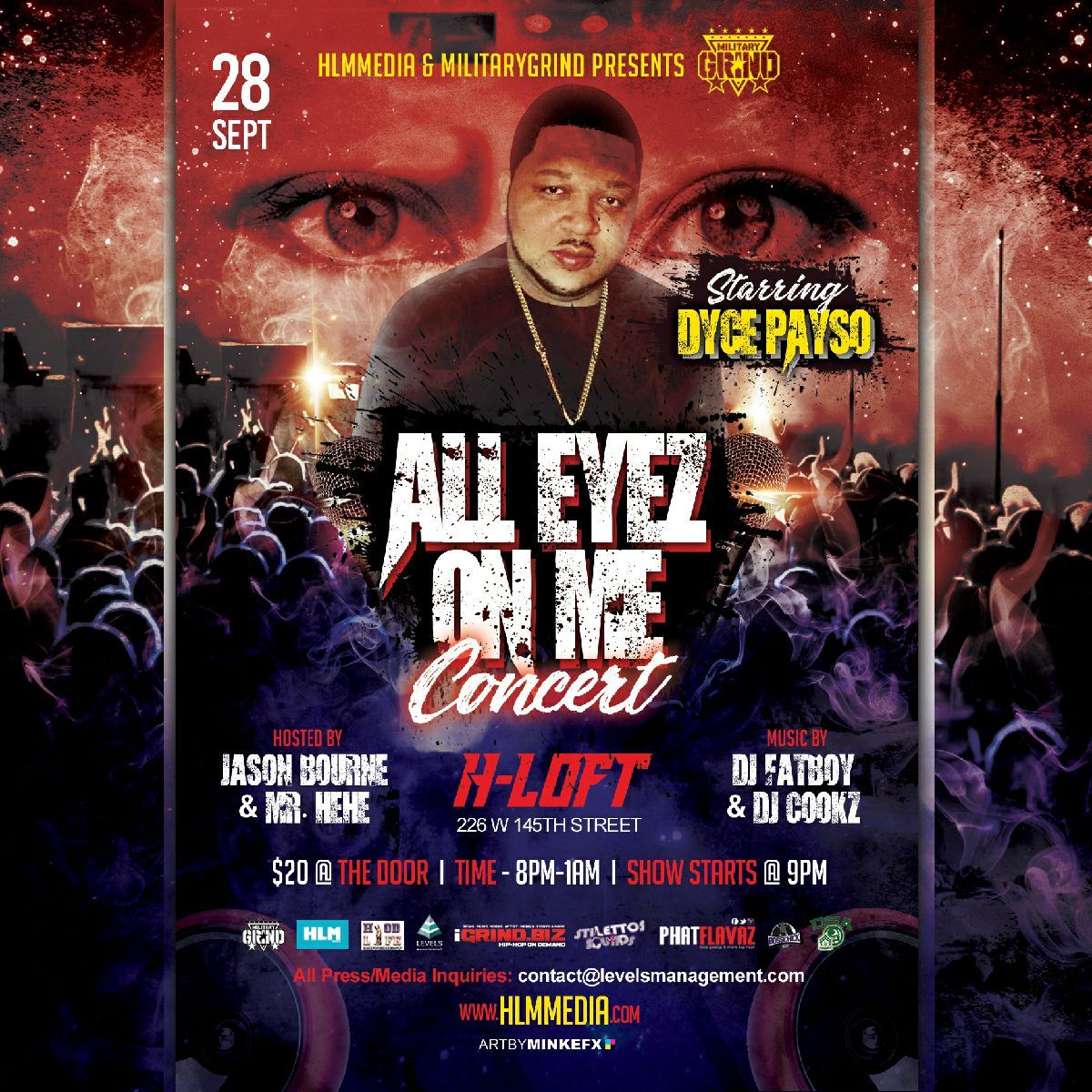 Photo of Dyce Payso – All Eyez On Me Concert