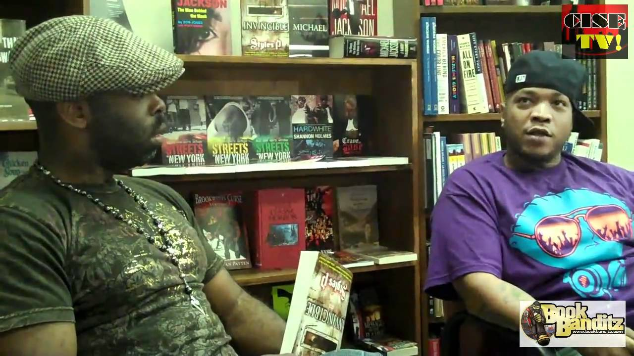Photo of STYLES P BOOK INTERVIEW WITH BOOK BANDITZ