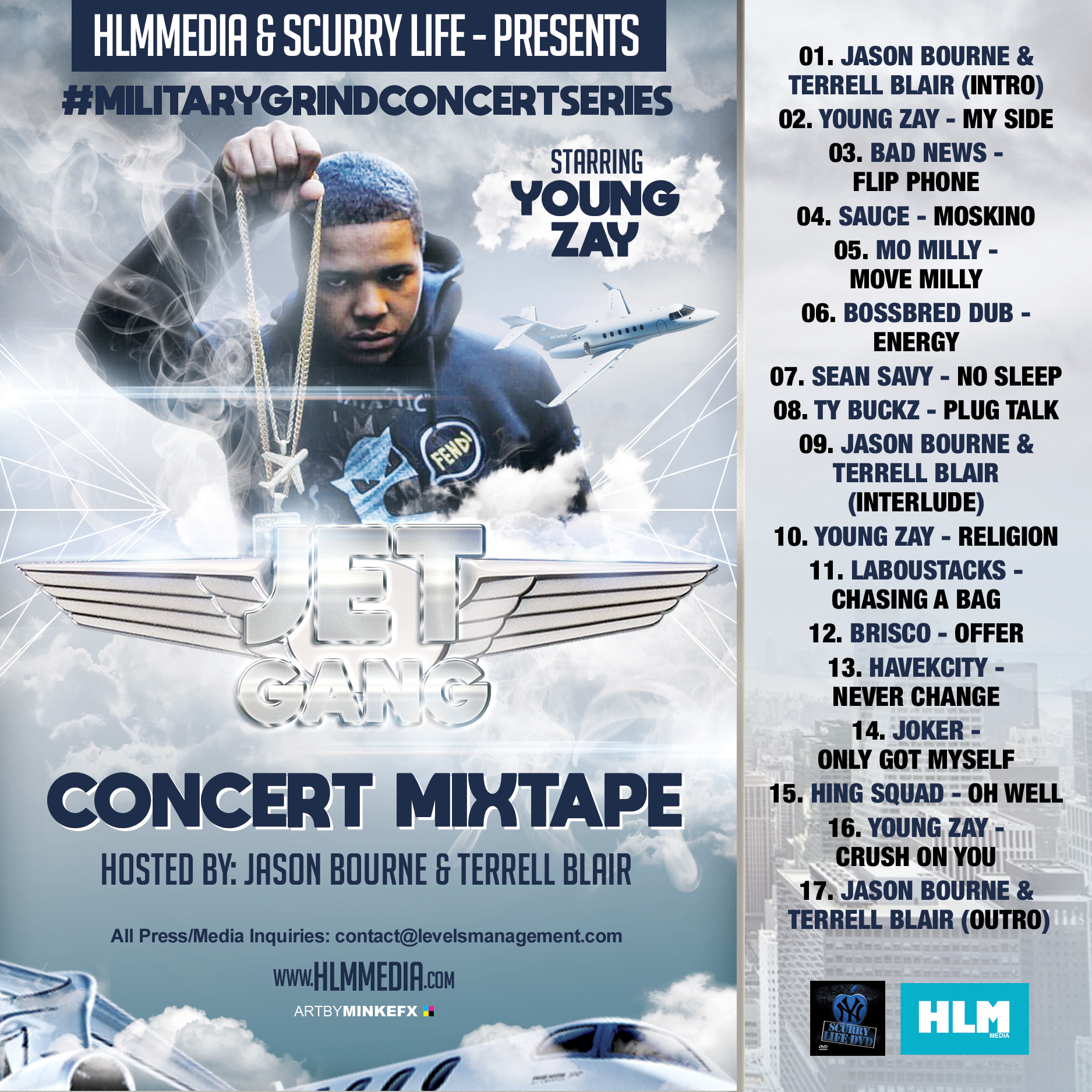 Photo of HLMMedia & Scurry Life Presents – Military Grind Concert Series
